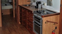 Aclass Motorhome - kitchen-home